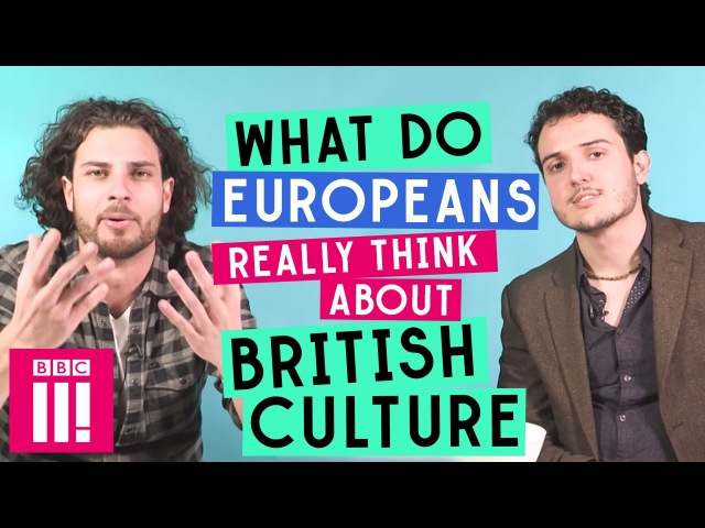 What Do Europeans Really Think About British culture? vk.com/topnotchenglish