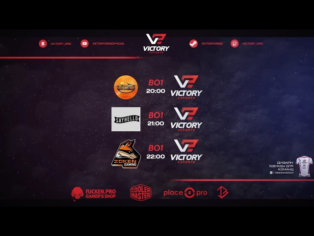 Zoken Gaming vs VICTORY.IZH | SLTV AMSERIES SEASON XVII (GS4)