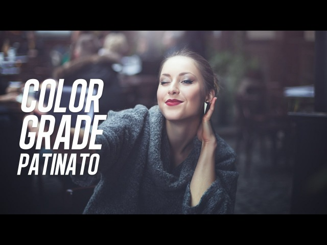 Color grade patinato e super fico in 5 minuti con Photoshop Tutorial ITA