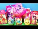 MY LITTLE PONY Mix! СЮРПРИЗЫ с игрушками Мой маленький пони Sweet Box, Kinder Surprise eggs unboxing