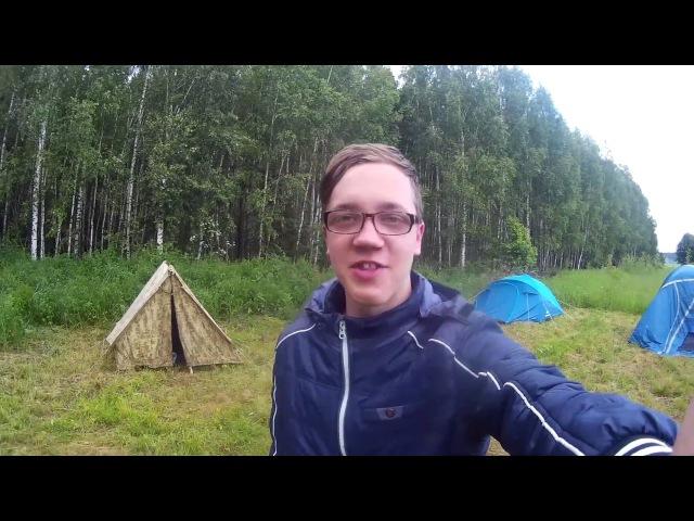 челендж 24 часа в лесу часть 1