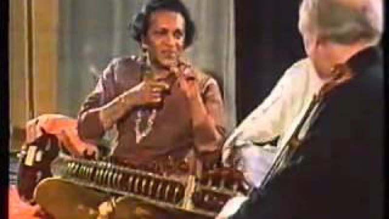Indian Classical Music : Ravi Shankar, Alla Rakha and Yehudi Menuhin Trio