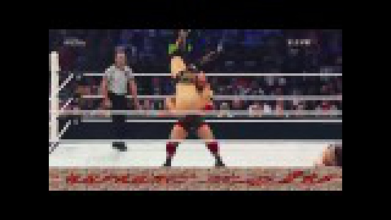 [WWE 24TV] | Big Show vs Ryback vs The Miz | wwe 2015 summerslam highlights HD