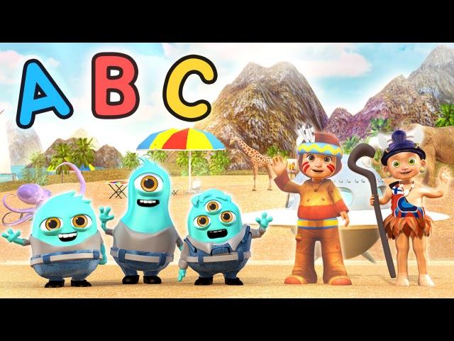 Alien Minion ABC Alphabet Song | Learn ABCs with the Minions | New Blue Minions