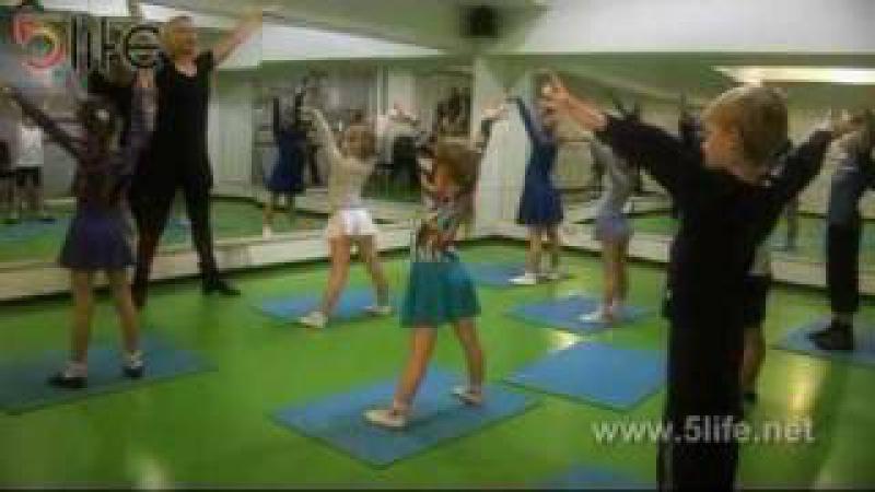 Бальные танцы. Детская группа в школе 5Life