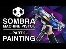 How to Airbrush Props - Sombra Gun Replica - Part 2