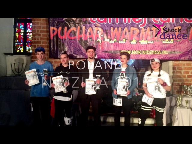 Bogdan Menzak - Hip-Hop. puchar Warmii i Mazur. 2015