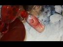 Наращивание и дизайн ногтей. Роспись гель-краской AS Challendger без липкого слоя Оран