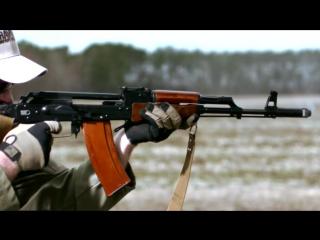 Kalashnikov slow motion. Калашников. Замедленная съемка