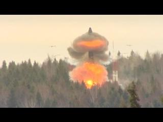 Пуск межконтинентальной баллистической ракеты «Тополь-М» 16.01.2017