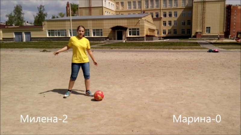 Football chalenge c Marishka Smali