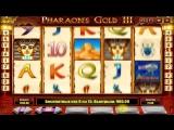 Vulkan Casino радует - игровой автомат  Pharaohs Gold 3 Deluxe Фараон сыпет бабло