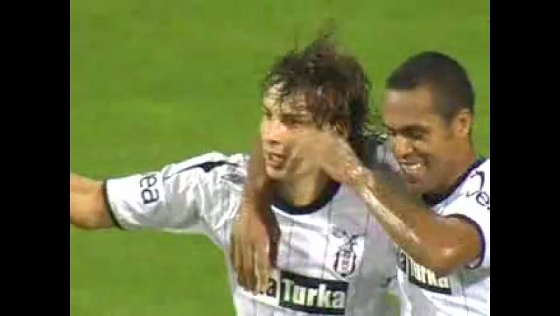 2006 - 2007 Sezonu - Beşiktaş-MKE Ankaragücü dakika 17 gol Gökhan Güleç