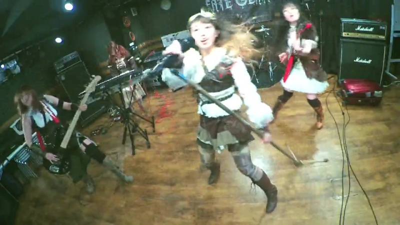「ぐるぐるマジック」メタルアレンジで演奏してみたガールズメタルバンドFATE GEAR