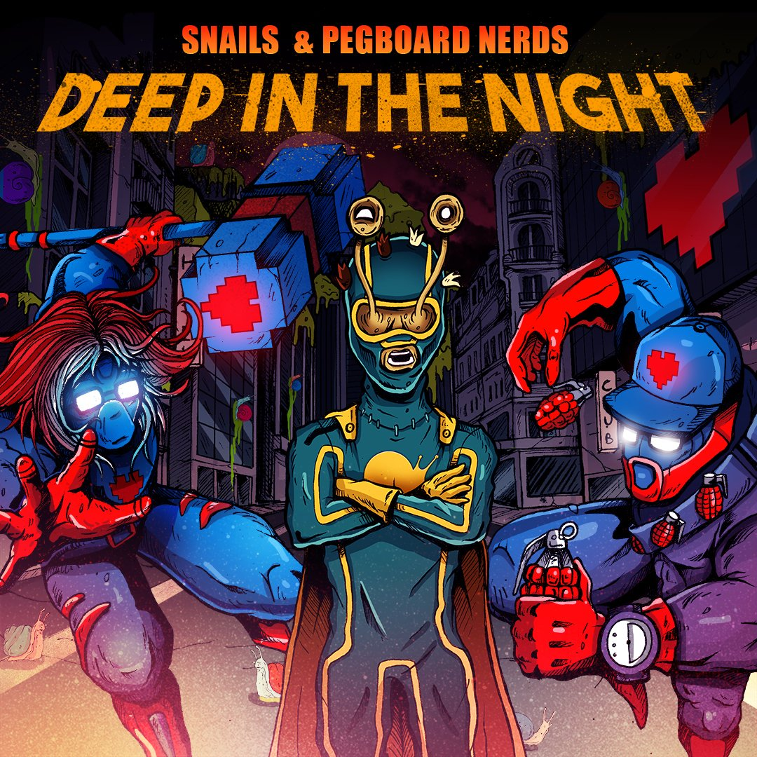 Pegboard Nerds & Snails - Deep In The Night (Original Mix)