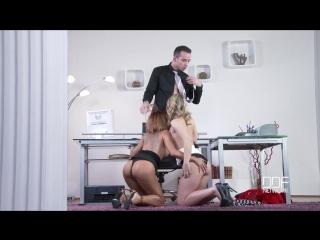 Rose valerie, jemma valentine - unexpected office threesome - stud ass fucks two bombshells (2016) hd ddfnetwork