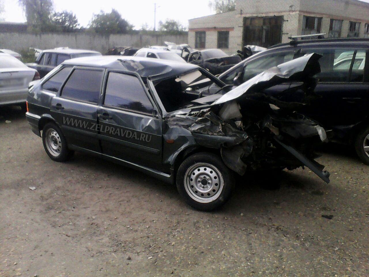В Даусузе автомобиль столкнулся с телегой