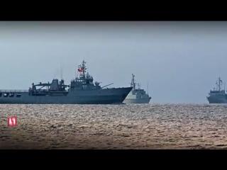 17 марта четыре корабля НАТО пришвартовались в Одессе