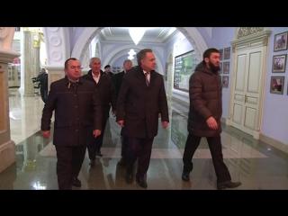 Сегодня в Грозный прибыл заместитель Председателя Правительства России Виталий Мутко