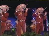 Марьячи играют мексиканскую народную музыку