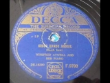 WINIFRED ATWELL - CROSS-HANDS BOOGIE - Decca F9790 (1951) DoGramofonuPL