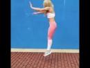 Финты от крутой гимнастки