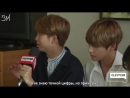 """[RUS SUB][25.05.17] BTS Sings """"Despacito"""" & Gives Sweet Message To Their Fans @ Clevver News"""
