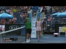Giorgi v Bacsinszky match highlights Australian Open 2017