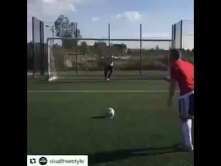 Как бы выглядели пенальти из Fifa 17 в реальной жизни