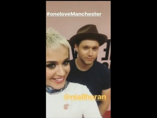 Niall on katyperry Instagram Story 4/6/17