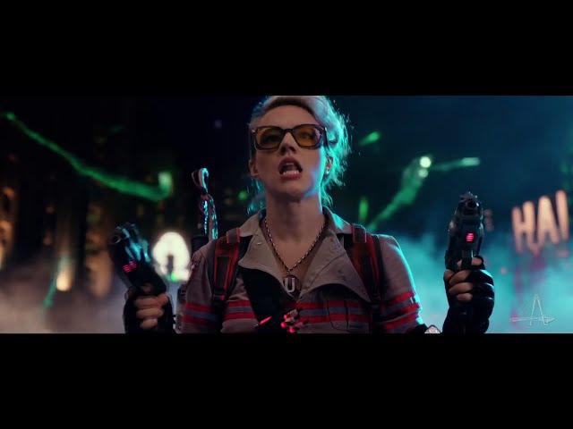Ghostbusters 2016 - music video clip   Охотники за привидениями 2016 - видеоклип