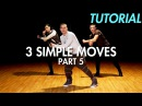 3 Simple Dance Moves for Beginners - Part 5 Hip Hop Dance Moves Tutorial Mihran Kirakosian