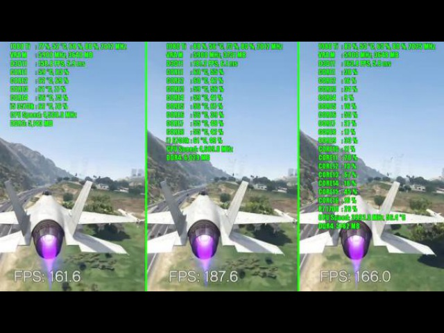 GTA 5 GTX 1080 Ti OC Ryzen 7 1700 - 6700K i7 - i5 3570k | 1080p | Фреймрейт ТЕСТ СРАВНЕНИЕ