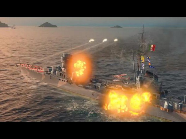 Крейсер Duca d Aosta Армада World of Warships