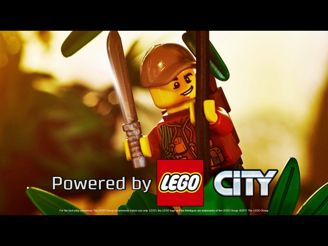 Jungle National Geographic - LEGO City - The Boiling River