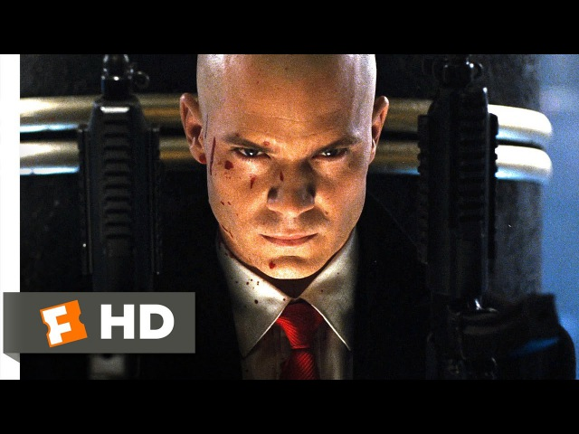 Hitman (4/5) Movie CLIP - Barrage of Bullets (2007) HD