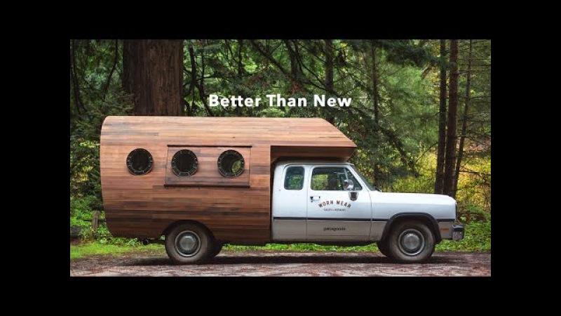 Better Than New - Patagonia's Worn Wear® Repair Truck Facility