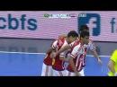 Brasil 6 x 3 Paraguai - GOLS - Desafio Internacional de Futsal 2016
