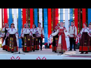 Фестиваль на родине Пятницкого - Усманский народный хор 2016