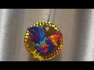 Подарки своими руками петушок новогодняя поделка лепим игрушки на елку♥DIY♥Идеи рукоделия!