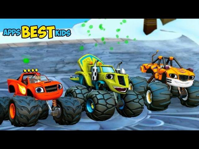 ВСПЫШ Чудо Машины Гонки на вершине мира Детский игровой канал Best Kids Apps