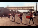 Девушки на трассе поздравляют дальнобойщиков