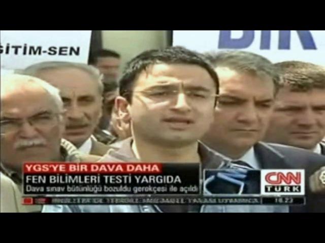 Cnntürk Ana Haber YGS İptal Davası Turgay Karakuş