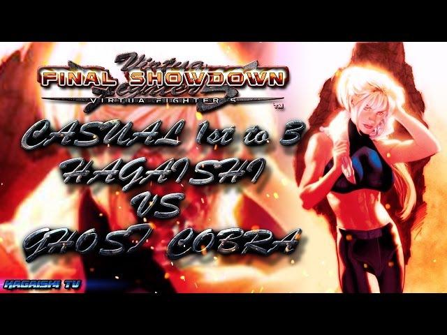 Casual Beatdowns BlazBlue CP Extend - Casual 1st To 3 HAGAISHI vs GHOST CORBA (1080p HD 60fps)