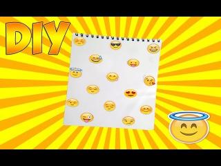 DIY - Блокнот со смайликами I BACK TO SCHOOL I Бэк ту скул