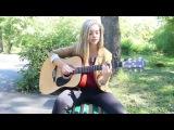 Девушки круто поют под гитару подборка красивых песен в исполнении милых девушек!