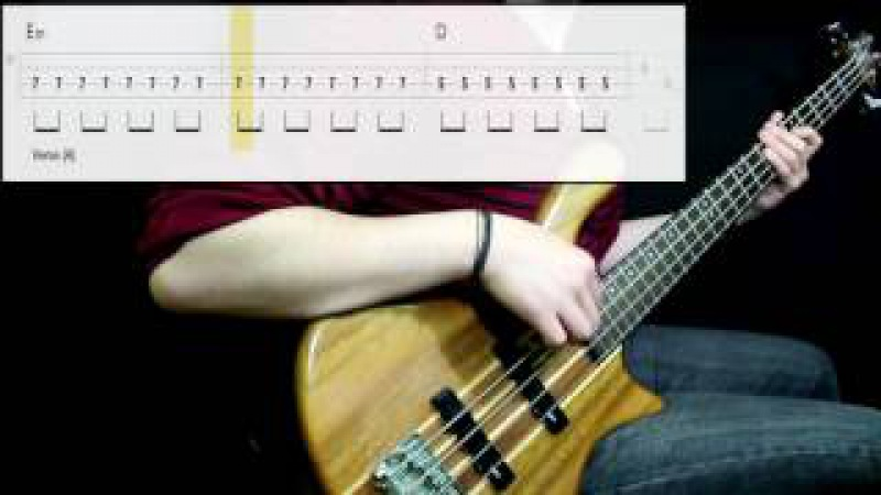 Black Sabbath - Paranoid (Bass Cover) (Play Along Tabs In Video)