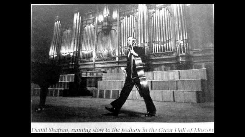 Daniil Shafran plays Tchaikovsky Rococo Variations Op.33 (1 of 2)