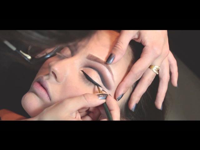 Maquiagem Cut Crease Aberto Moderno por Mariana Ramos