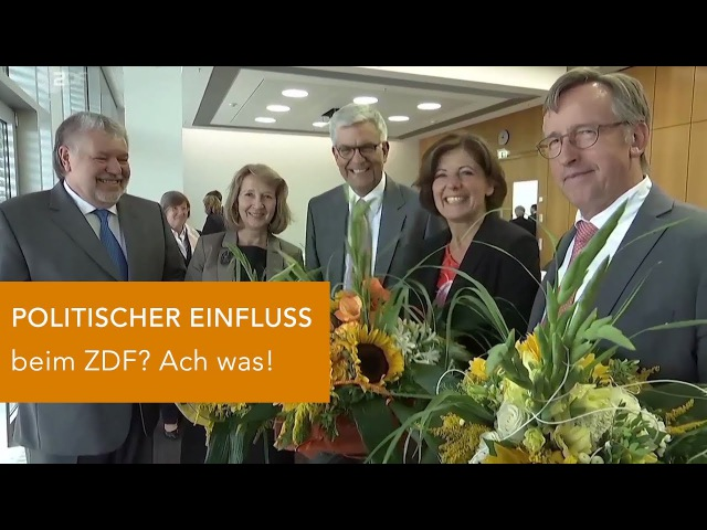 Politischer Einfluss beim ZDF Ach was!
